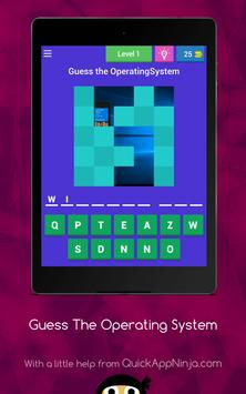 Guess The Operating System apk screenshot