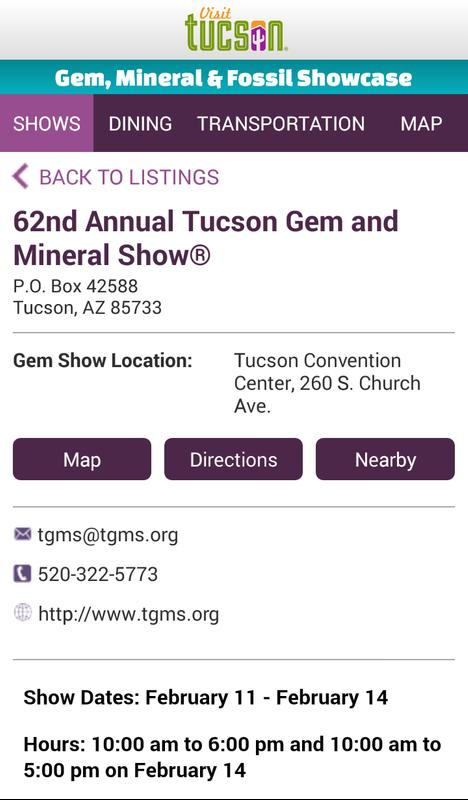 Aaps fossil dealers and events gide at the tucson mineral and.