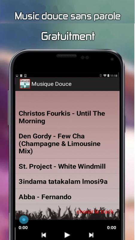 Musique douce mp3 for android apk download.