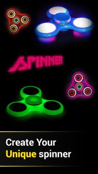 Draw & Spin (Fidget Spinner) Game poster
