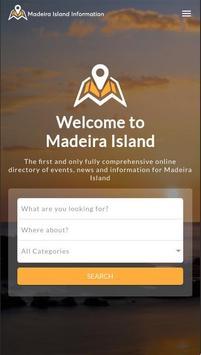 Madeira Island Information poster