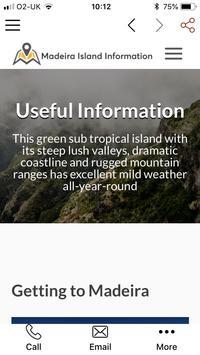 Madeira Island Information screenshot 3