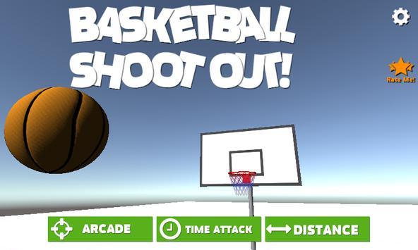 Basketball Games Shootout! poster