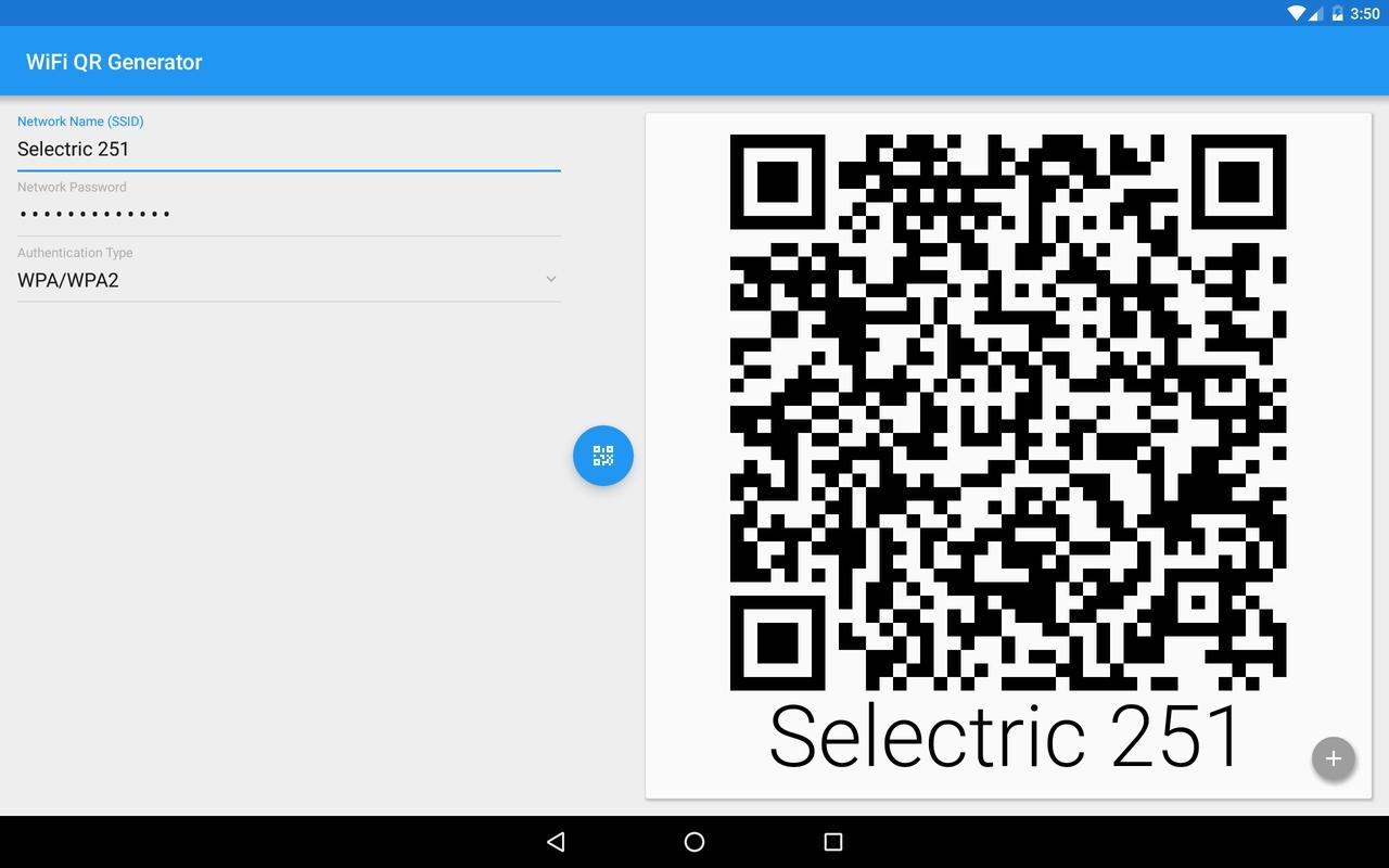 Wifi qr code generator apk | Wifi QR Code Generator & List