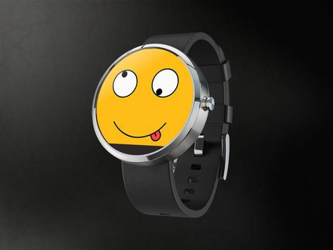 Crazy Face Watch Android Wear poster