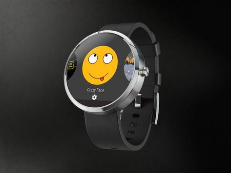 Crazy Face Watch Android Wear apk screenshot