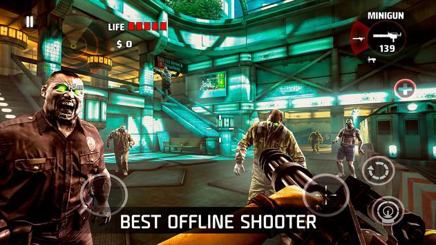 DEAD TRIGGER - Offline Zombie Shooter poster