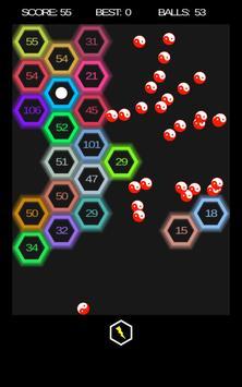 Hexa Ballz apk screenshot