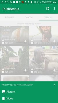 PushStatus apk screenshot