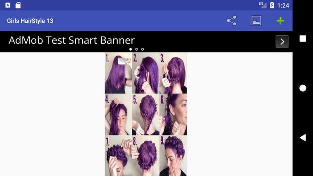 5000+ Girls HairStyles HD Step by Step (Offline) screenshot 17