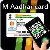 Fake Aadhar Card Maker Prank and QR Code Scanner icon