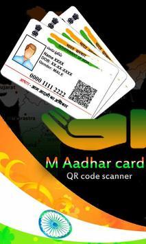 Fake Aadhar Card Maker Prank and QR Code Scanner poster