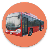 AMTS Ahmedabad route/stop info icon