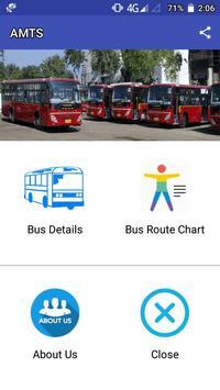 AMTS Ahmedabad route/stop info screenshot 1