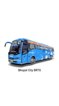 Bhopal City BRTS poster