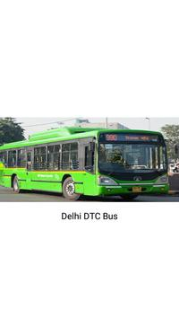 Delhi DTC  Bus - Timing & Routes poster