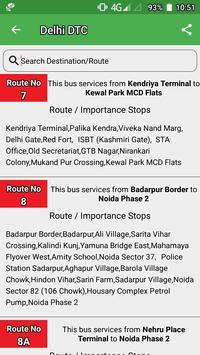 Delhi DTC  Bus - Timing & Routes screenshot 2