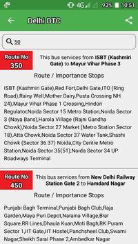 Delhi DTC  Bus - Timing & Routes screenshot 4