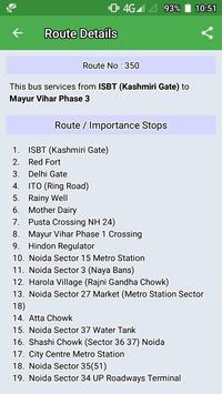 Delhi DTC  Bus - Timing & Routes screenshot 5