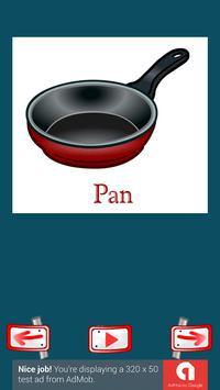 Learn Kitchen Words screenshot 2