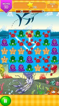 Ocean Blast Match 3 Game screenshot 1