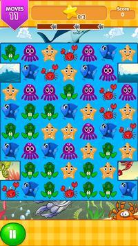 Ocean Blast Match 3 Game screenshot 2