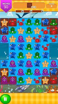 Ocean Blast Match 3 Game screenshot 4