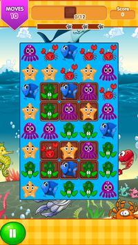 Ocean Blast Match 3 Game screenshot 5