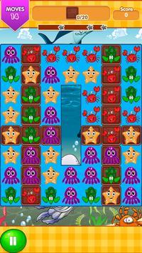 Ocean Blast Match 3 Game screenshot 6