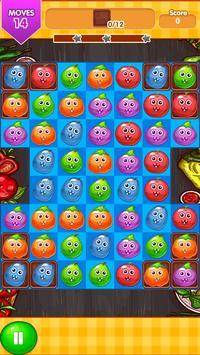 Veggie Blast Match 3 Game screenshot 3