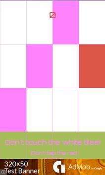 Tap Pink and White Piano apk screenshot