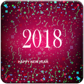 Happy New Year Top Greeting Messages 2018 icon