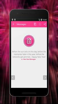 Happy New Year Top Greeting Messages 2018 apk screenshot