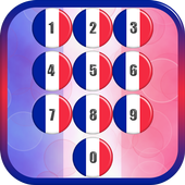 France Flag Pin Lock Screen icon