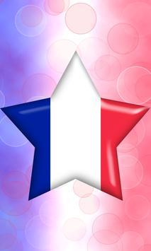 France Flag Pin Lock Screen apk screenshot