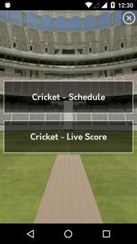 Live Cricket Score poster