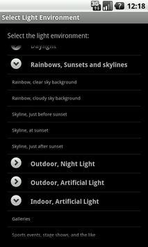 Light Exposure Calc apk screenshot