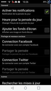 Ma pensée positive apk screenshot
