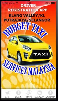 TAXI DRIVER MALAYSIA poster