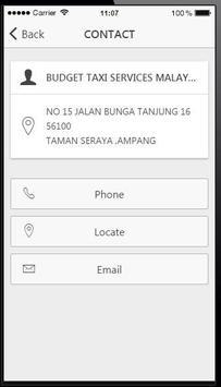 TAXI DRIVER MALAYSIA apk screenshot