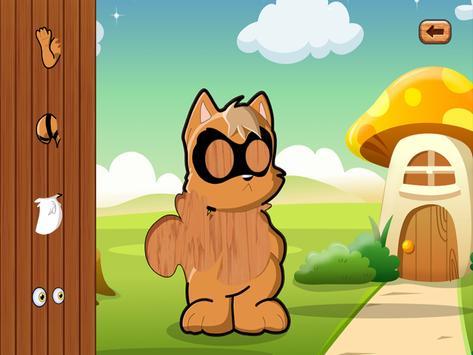 Cats Animal Jigsaw Puzzles kid apk screenshot