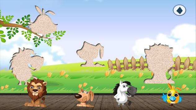 Animal Puzzle for Toddlers & kids Jigsaw fun games apk screenshot