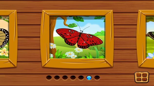 Butterfly jigsaw kids games screenshot 5