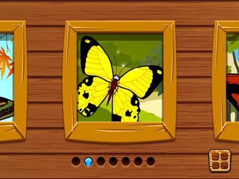 Butterfly jigsaw kids games screenshot 6