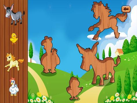 Farm Puzzles & Games For Kids apk screenshot