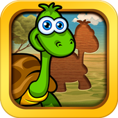 Fun Animal Puzzles & Games for Toddlers Kid jigsaw icon