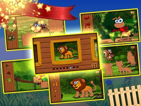 Free toddler jigsaw puzzles for kids & babies Mega screenshot 10