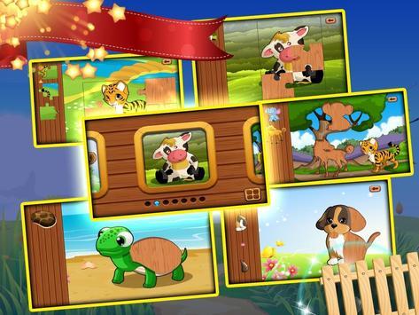 Free toddler jigsaw puzzles for kids & babies Mega screenshot 12