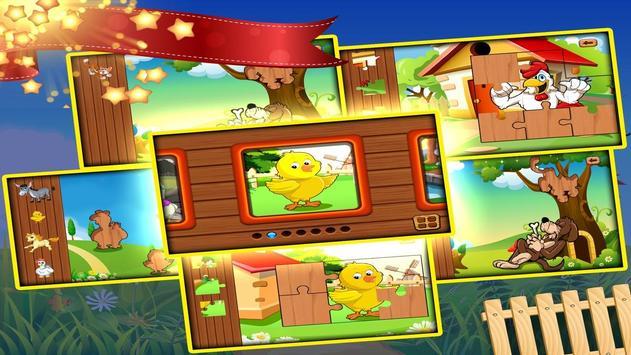 Free toddler jigsaw puzzles for kids & babies Mega screenshot 3