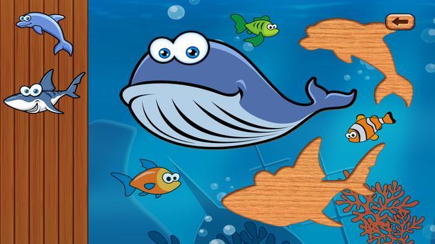 Sea Kid & Toddler Puzzle Game apk screenshot